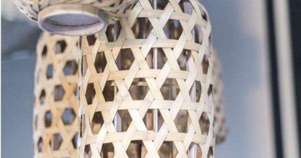 Lanterne photophore en bambou tress ajour yunnan athezza for Athezza decoration