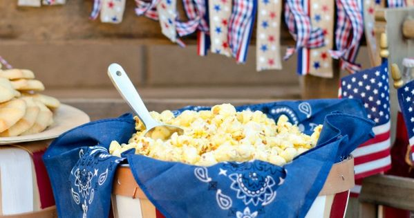 Great Ideas — 20 Fourth of July Party Ideas! red white blue