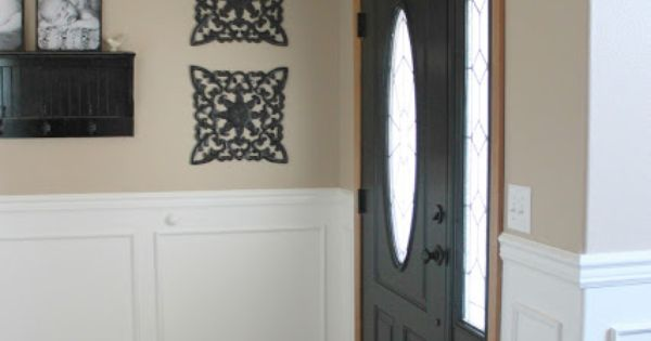 How To Paint A Door Without Brush Marks Diy Pinterest Doors Wood Trim And Natural Wood Trim