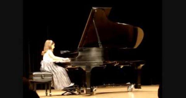 Emily Bear Chopin Waltz Op 64 No 2 Music Concert Waltz Piano