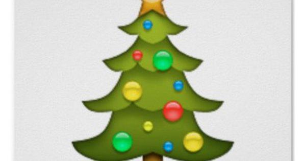 Christmas Tree Emoji Poster Xmas Christmaseve Christmas Eve Christmas Merry Xmas Family Holy Ki Tree Emoji Christmas Wall Decal Christmas Wall Art