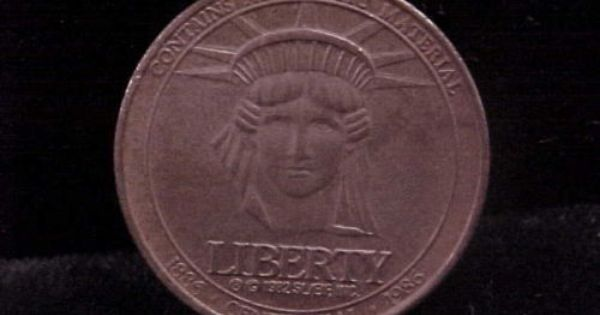 VINTAGE COIN TOKEN SEARS 100 YEARS LIBERTY CELEBRATING A NEW CENTURY 1886-1986