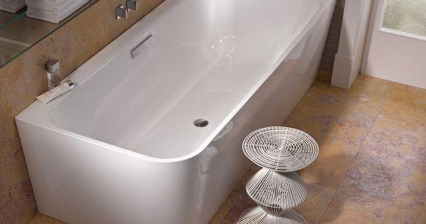 Eck badewanne bette art iv wei bad badewannen for Badezimmer keramik hersteller
