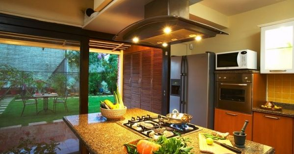 Kitchen living rooms dining kitchen living dining kitchen island - Kitchen Island With Hob Kitchen Designs Pinterest