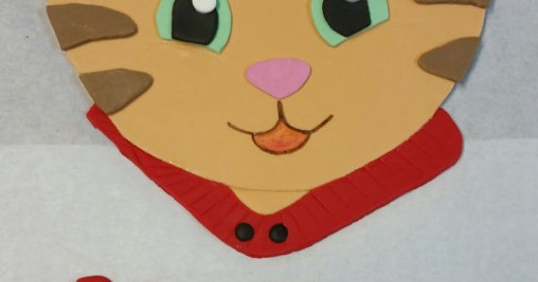 Fondant Daniel Tiger Cake Topper Kit Includes Daniel
