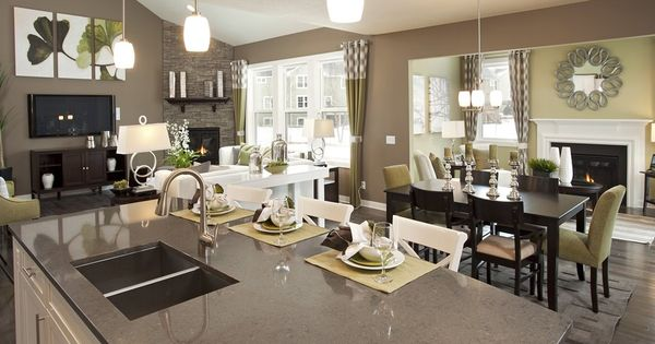 Gray And Green Paint Colors Pulte Homes Love Color