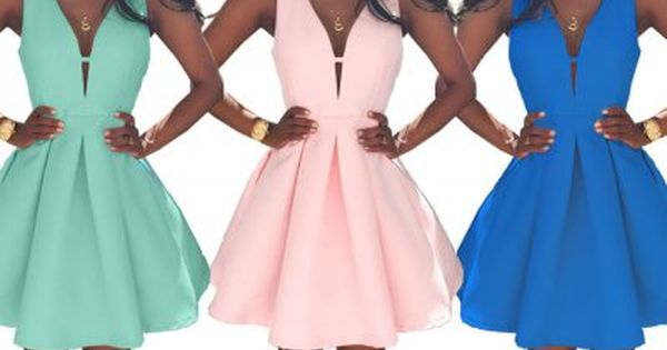 Kobieca Rozkloszowana Sukienka Pianka Dekolt M303 7674960542 Oficjalne Archiwum Allegro Dresses Fashion Prom Dresses
