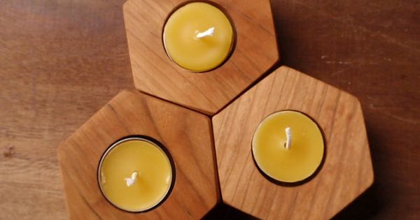 Beehive modular candle holder   Candle holder set, Beehive ...