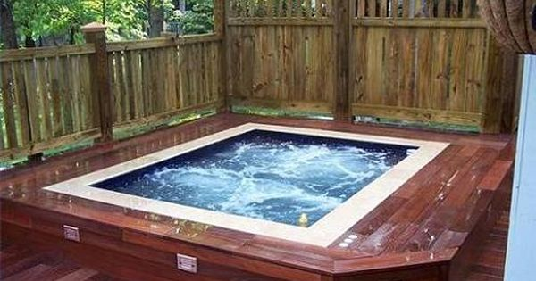 Garden Hot Tubs For The Home Pinterest Hot Tubs