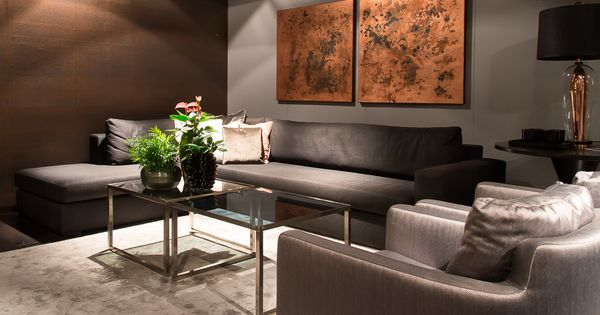 Victor bank en kaleido fauteuils metropole by baan i de intense kleurencombinatie zorgt voor - Idee deco eetsalon eigentijdse ...