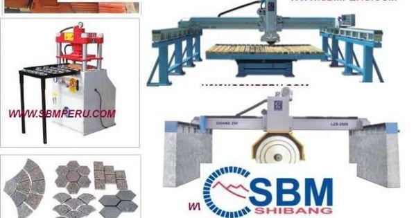Maquinas para cortar procesar piedra rio granito marmol for Proveedores de granito