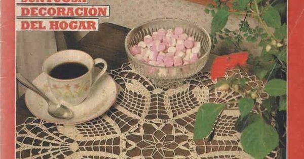 Revista 17 punto rama ganchillo suntuosa decoraci n for Decoracion hogar a crochet