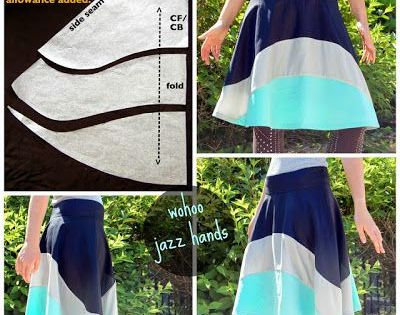Cute skirt pattern. Sewing project? @Rebecca Hyatt
