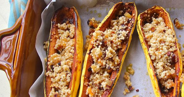 Squash boats, Quinoa pilaf and Wimpy on Pinterest
