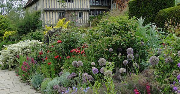 Le pav et la bordure de fleurs jardinage pinterest for Conception jardin anglais