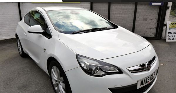 2013 13 Vauxhall Astra 1 4 Gtc Sri S S 3d 138 Bhp Hpi Clear