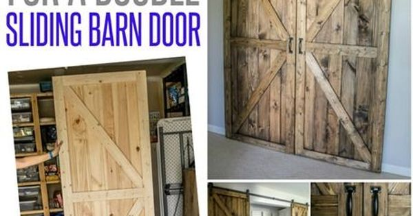 Diy Double Barn Door Plans Double Barn Doors Free