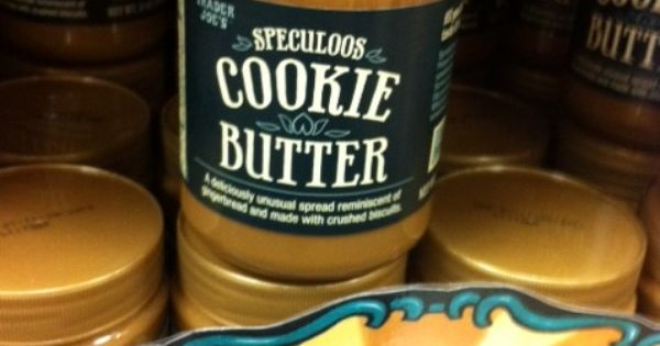 COOKIE BUTTER HOLY SHIT.