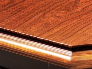 Custom Table Pad No Insert Leaves Round 44 5 8 X 44 7 8