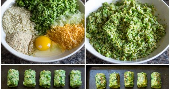 Healthy Baked Broccoli Tots are the perfect low-fat snack for you and