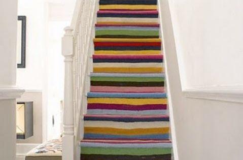 Escalier Peint 17 Id Es Peinture Escalier Tapis Escalier Id E Peinture Et Escaliers