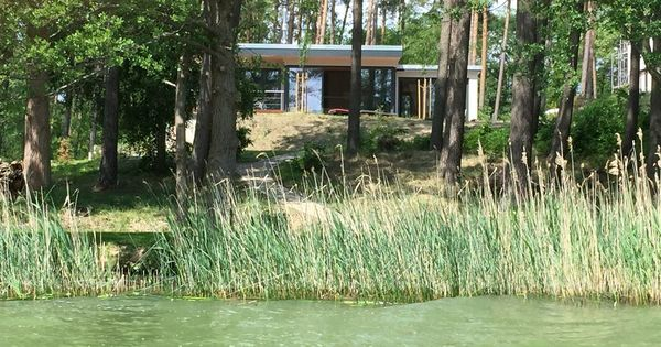 Panorama Lychensee In Retzow 2 Schlafzimmer Fur Bis Zu 6 Personen Luxus Ferienhaus Direkt Am See Naturnaher K Luxus Ferienhaus Ferienhaus Ferienhaus Am See