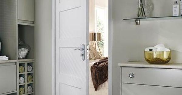 primed 4 panel shaker internal stile rail doors. Black Bedroom Furniture Sets. Home Design Ideas