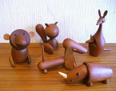 Senshukai Royalpet Monkey Squirrel Dachs Hund Rhino Kangaroo Ye Ye 木材加工プロジェクト 木製アート 木の作品