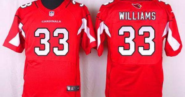 Wholesale NFL Nike Jerseys - Arizona Cardinals #33 Kerwynn Williams Red Team Color NFL Nike ...