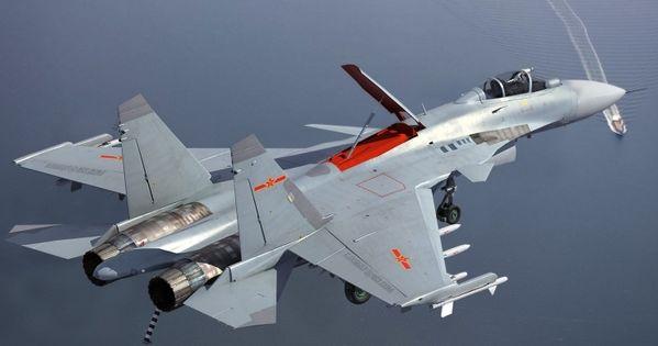 Resultado de imagen de Shenyang J-15 Tiburón Volador