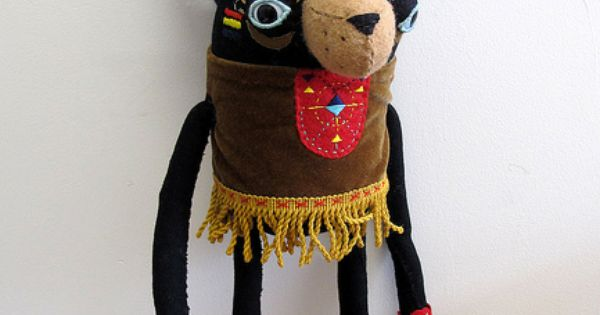 Handmade - bear warrior
