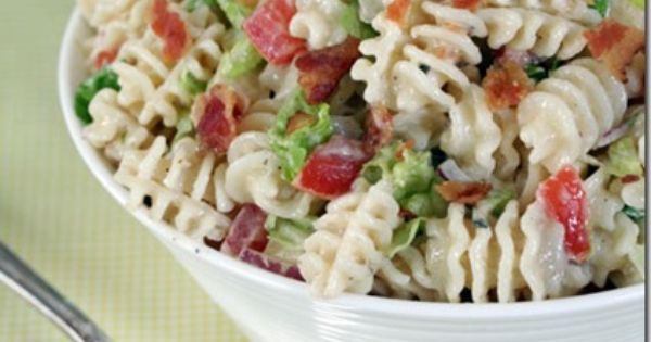RANCH BLT PASTA SALAD | From Cinnamon Spice and Everything Nice ~