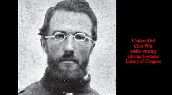 Civil War Cowboy Victorian Era Steampunk Eyeglasses For Men