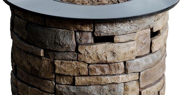 Shop Allen Roth 36 6 In W 50 000 Btu Stone Design