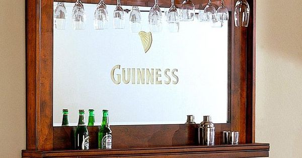 Guinness Bar Mirror Do With Any Mirror And Then Paint