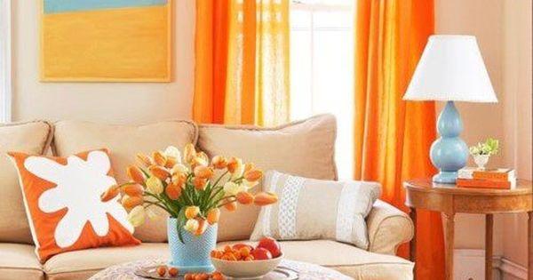 Modern Interior Design Ideas Celebrating Bright Orange ...