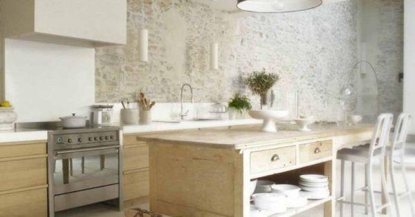 Deco cuisine rustique et moderne d co barre cuisine for Decorer une cuisine rustique