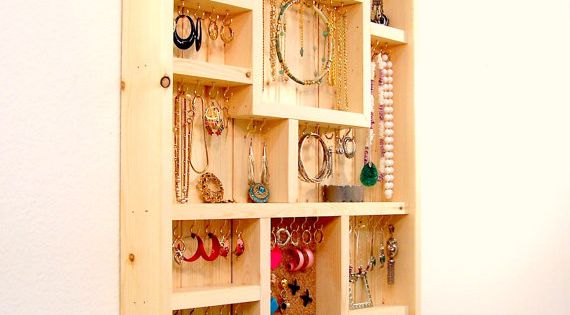 Do It Yourself Jewelry: Jewelry Organizer Large Do It Yourself Kit By