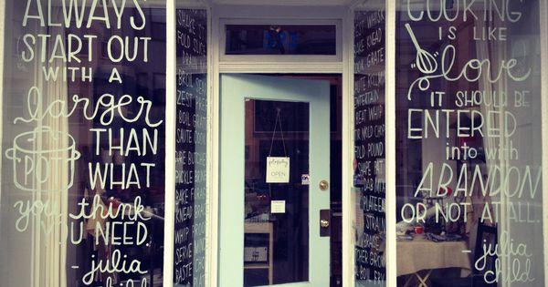shop windows in pot & pantry, san francisco, ca