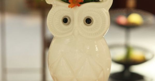 Ceramic brief home decoration new homes furnishings decoration owl