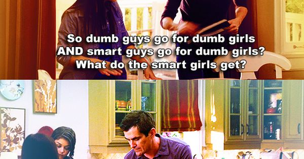Modern Family: What do smart girls get?!