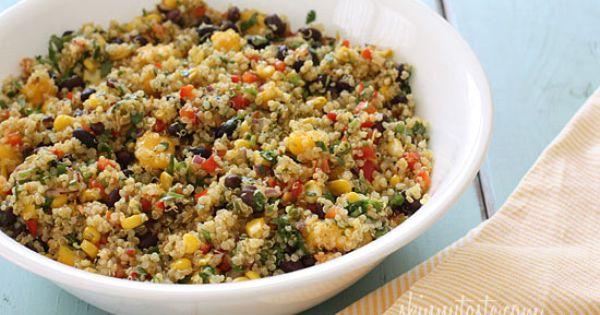 Southwestern Blackbean, Quinoa, and Mango Medley