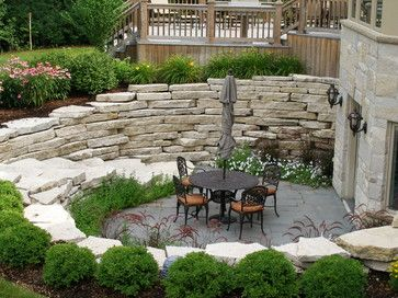 Walk Out Basement Patio Design Ideas Pictures Remodel And Decor Patio Backyard Backyard Landscaping