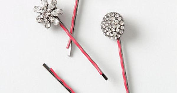 Stella Bobbies at anthropologie. I always love cute hair pins!