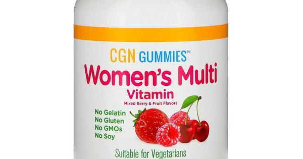 افضل 8 مكملات غذائية للنساء Multivitamin Nutrition Gummy Vitamins