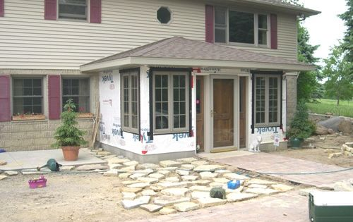 Front Entry Addition Split Level Ideas Pinterest Front Entry Mud And All That Remains