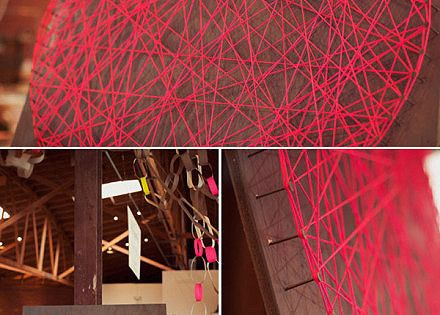 DIY: String heart stringart