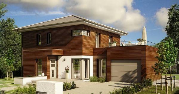 Fassade modern einfamilienhaus  Stadtvilla modern * Haus Evolution 143 V12 Bien Zenker ...