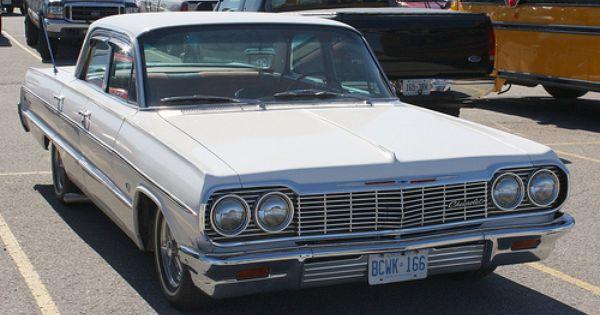 1964 Chevy Impala White 4 Door Google Search Chevy Impala Impala 64 Impala