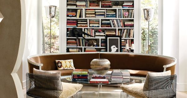 ".In my dream house, this would be ""book club room""."